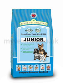 James Wellbeloved Junior Dog Performance Fish & Rice